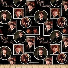Harry Potter Digital - Ron Weasley Camelot 100% cotton fabric by the yard