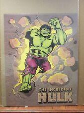 Vintage 1988 The Incredible Hulk original Marvel Comics poster 10573