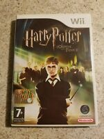 Nintendo Wii Harry Potter and The Order of the Phoenix in ITALIAN Rare Complete