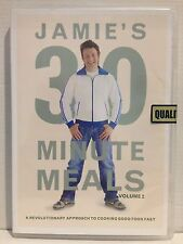 JAMIE OLIVER ~ JAMIE'S 30 MINUTE MEALS VOLUME 2 ~ NEW/SEALED PAL DVD ~ 300 MINS