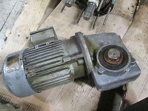 Siemens Motor & Gear LA5083-4BA99-Z 1HP 1745RPM 230/460V 3.15/1.57A Used