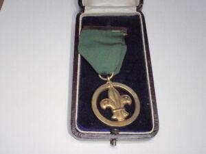 1958 - Boy Scout - Medal of Merit - British  Miss J E Crawley
