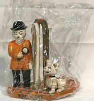 Yankee Candle 2017 Boney Bunch BONEY HOLMES JAR Candle Holder LE OOP COLLECTIBLE