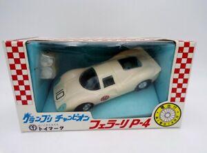 RARE 60's Toy Mark Japan B/O Motorized Ferrari 330 P4 Car NOS Ideal Motorific