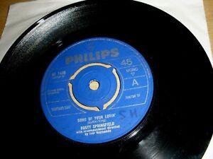 "Dusty Springfield Some Of Your Lovin' 7"" Vinyl Single 1965 Philips BF 1430 Mono"