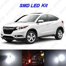 10 x Ultra White SMD LED interior Lights Kit for 2015-2016 Honda HRV CRV