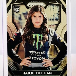 RARE Hailie Deegan PRIZM RC - 2018 PRIZM NASCAR Racing *TRUE ROOKIE* GRADABLE