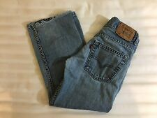 Levi Strauss Blue Jeans 550 Youth Boys Relaxed Fit Size 24x22 8 Reg