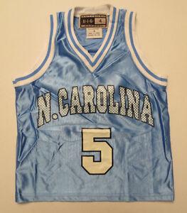 NORTH CAROLINA TAR HEELS YOUTH JERSEY KIDS BOYS VINTAGE RETRO NCAA VTG BLUE