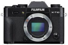Fujifilm X-t10 Digital Compact System Camera Body Only Black