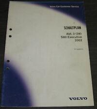 Werkstatthandbuch Elektrik Volvo S 80 S80 Executive elektrische Schaltpläne 2002