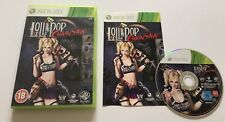 Lollipop Chainsaw Microsoft Xbox 360 Complete PAL