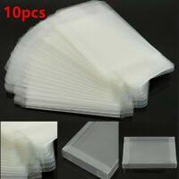 10pcs Clear Game Cartridge Cover Case For Nintendo SNES/Super NES Game Card