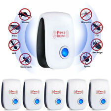 6X Electronic Ultrasonic Pest Repeller Repellent Mice Rat Reject Plug in Control