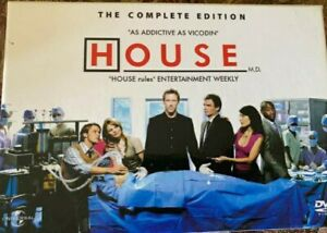 House MD 1-5 DVD The Complete Edition Hugh Laurie Medical Hospital Drama. #80