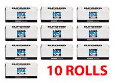 Ilford FP4 Plus 125 ISO Black & White 120 Film 10 Rolls