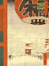 UTAGAWA HIROSHIGE JAPANESE POSTER 100 VIEWS EDO 099 ART PAINTING PRINT 2695OM