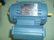 LAFERT ...LM 56 / 4 ....ELECTRIC MOTOR 220V 50 HZ..... DOUBLE ENDED 1350 RPM NEW