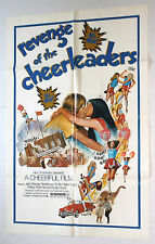 REVENGE OF THE CHEERLEADERS vtg 1976 MOVIE POSTER SEXPLOITATION classic ADULT