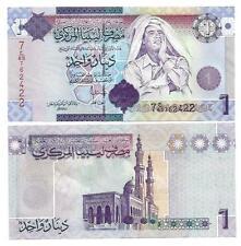 LIBYEN LIBYA 1 DINAR 2009 UNC P 71