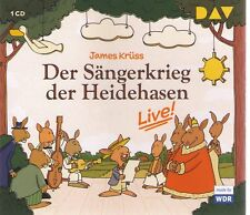 James Krüss | Der Sängerkrieg der Heidehasen - Live! | CD-Album,  gebraucht