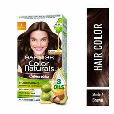 Garnier Naturals Crème Hair Color Shade 4 Brown,70ml+60g + Free Shipping