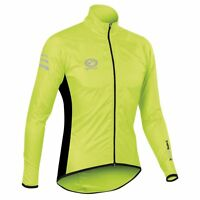 Optimum Sports Nitebrite High Visibility Reflective Cycling Rain Jacket