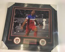 Clint Dempsey Framed Autographed 16x20 Picture Steiner Coa