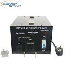 SevenStar TC-3000 Watt 110V-220 Volt Up/Down Transformer Heavy-Duty Converter