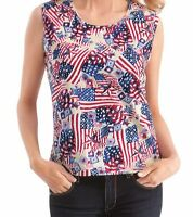 Flag Stars 'n Stripes Sequin Tank Top