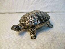 """Petite boite """" tortue"""" de collection en métal"""