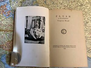 Flush: A Biography by Virginia Woolf 1933 1st Edition Hogarth Press