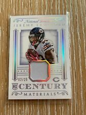 Jeremy Langford 2015 National Treasures HOLO SILV  Patch RC 02/25- BEARS