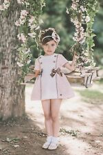 Vestido de niña Dolce Petit color rosa-  Dolce Petit -  verano