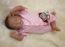 49cm/20'' Handmade Newborn Reborn Doll Baby Girl Lifelike Vinyl silicone toys