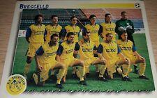 FIGURINA CALCIATORI PANINI 1997/98 602 BRESCELLO ALBUM 1998