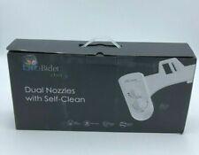 Biobidet Elite3 Non-electric Toilet Bidet Attachment With Dual Nozzle - White