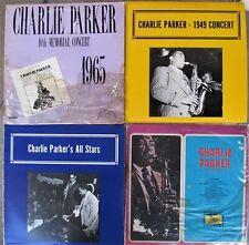 JAZZ LP LOT: CHARLIE PARKER All Stars, Carnegie Hall, Vol. 5, Memorial Concert