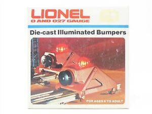 O/O27 Gauge Lionel #6-2283 Die-Cast Metal Illuminated Bumpers (2)