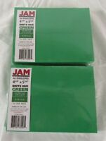 2JAM PAPER A2 Colored Invitation Envelopes - 4 3/8 x 5 3/4 - Green Recycled - 50