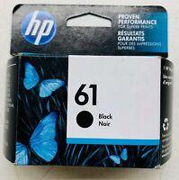 New Genuine HP 61 Black Ink Cartridge Officejet 2620 Envy 4501 4507 Exp 2020