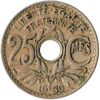 COIN / FRANCE / 25 CENTIMES 1930   #WT3459