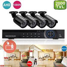 Pack Video Surveillance Sécurité HD 4 caméras Neuf