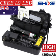 20000lm CREE L2 Genuine SHIXE G700 Tactical LED Flashlight Military Torch X800