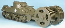 1/48th GASOLINE WWII US Sherman T1E3 mine roller