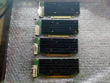 NVIDIA QUADRO NVS 290 256 MB PCI-e Tarjeta gráfica perfil bajo DMS-59 x4