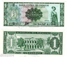 Paraguay Billet 1 Guarani  L.1952  P193  NEUF UNC