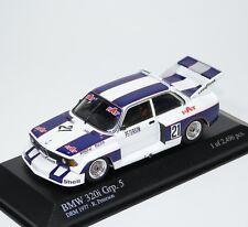 BMW 320i Gr.5 E21 DRM 1977 Team Hat Ronnie Peterson Minichamps 400772321 1:43