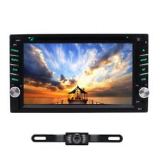"""7"""" Double 2 Din Car Stereo Hd Cd Dvd Player Radio Bluetooth with Backup Camera"""