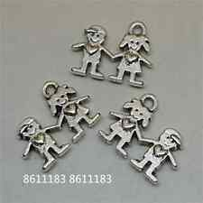 30pc Tibetan Silver Boys and girls Pendant Charms Beads Jewellery Craft GP579